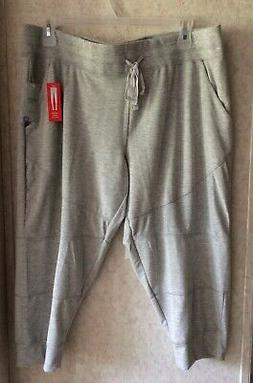 Danskin Now Womens Capris Jogger Pull On Super Stretch New S