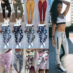 womens casual sweatpants jogger dance harem pants