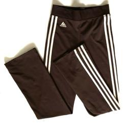 Adidas Women's Chocolate Climacool Sweatpants Athletic Pan