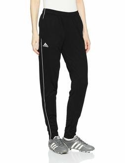 adidas Women's Core18 Training Pants, Black/White, Small