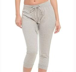 COCO LIMON Womens Plus Size 3X Capri Jogger Sleep Lounge Wea