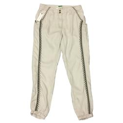 Anthropologie Womens Soft Lightweight Embroidered Jogger Bea