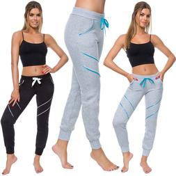 Womens Stretchy Sport Pants with Pockets Ladies Ultra Soft S