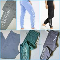 CALVIN KLEIN Women`s Sweatpants Joggers Big LOGO 1 Athletic