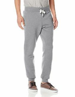Young Mens SOUTHPOLE Fleece Jogger Pants M, Heather Grey