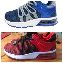 Athletic Works Youth Boy's Tech Jogger Sneakers Size 2, 4, 5