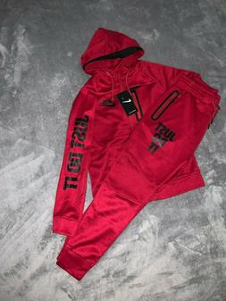 YOUTH NIKE JUST DO IT FULL ZIP HOODIE + JOGGERS COMPLETE SET